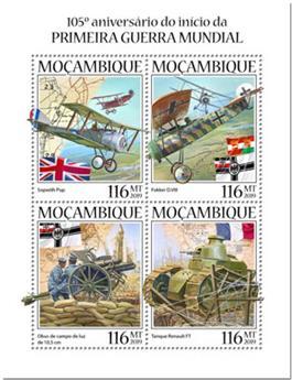 n° 8610/8613 - Timbre MOZAMBIQUE Poste