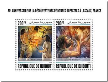 n° 3017/3018 - Timbre DJIBOUTI Poste
