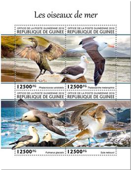 n° 10151/10154 - Timbre GUINEE Poste