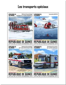 n° 10211/10214 - Timbre GUINEE Poste