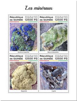 n° 10263/10266 - Timbre GUINEE Poste