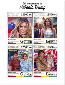 n° 10323/10326 - Timbre GUINEE Poste