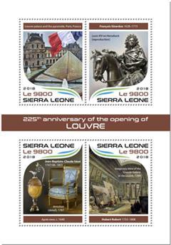 n° 7869/7872 - Timbre SIERRA LEONE Poste
