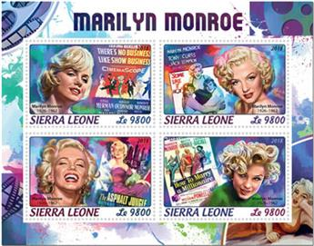 n° 7949/7952 - Timbre SIERRA LEONE Poste