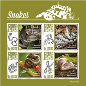 n° 9368/9371 - Timbre SIERRA LEONE Poste