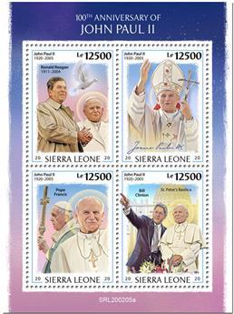 n° 9717/9720 - Timbre SIERRA LEONE Poste