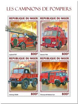 n° 5192/5195 - Timbre NIGER Poste