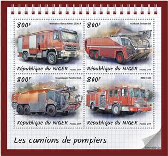 n° 5655/5658 - Timbre NIGER Poste