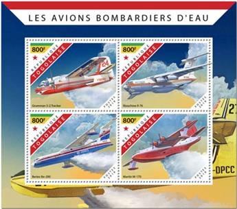 n° 7643/7646 - Timbre TOGO Poste