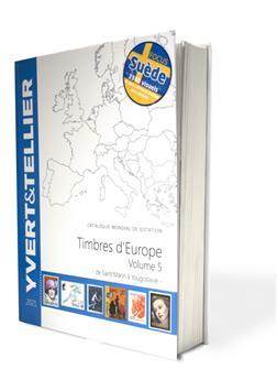 EUROPE Volume 5 - 2021 (Catalogue des Timbres des pays d´Europe de S à Y)