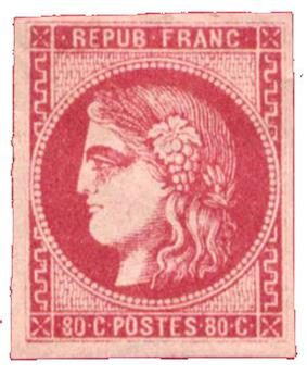 n°49* - Timbre FRANCE Poste