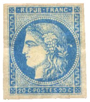 n°45A* - Timbre FRANCE Poste