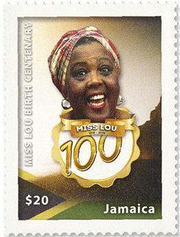 n° 1217/1220 - Timbre JAMAIQUE Poste
