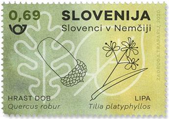 n° 1217 - Timbre SLOVENIE Poste