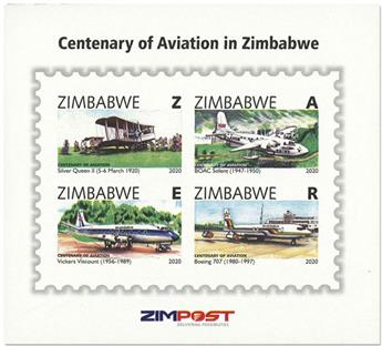 n° 38 - Timbre ZIMBABWE Blocs et feuillets