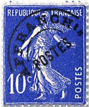 n.o 52 -  Sello Francia Precancelados