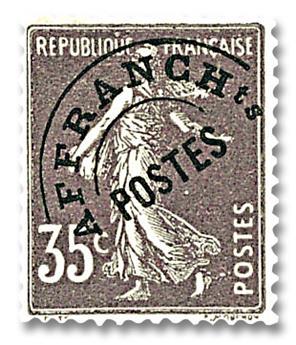 nr. 62 -  Stamp France Precancels