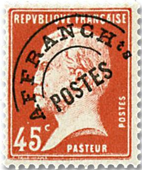 n° 67 -  Selo França Pré-obliterados