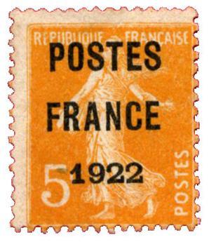 n°36(*) - Timbre FRANCE Préoblitérés