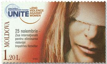 n° 1006 - Timbre MOLDAVIE Poste