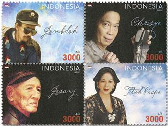 n° 3039/3046 - Timbre INDONESIE Poste