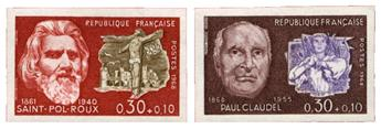 n°1552/1553** ND - Timbre FRANCE Poste