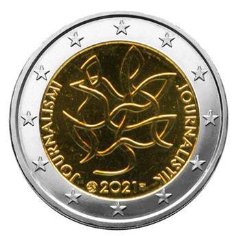 2 EURO COMMEMORATIVE 2021 : FINLANDE (100 ans de l´Association finlandaise des journalistes)
