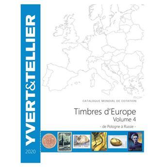 EUROPE Volume 4 - 2020 (Catalogue des timbres des pays d´Europe de P à R)