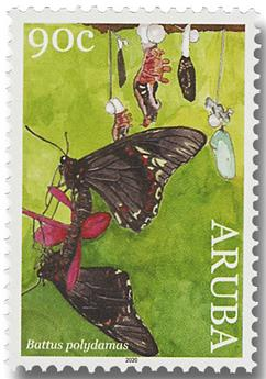 n° 1087/1090 - Timbre ARUBA Poste