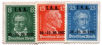 n°398/400* - Timbre ALLEMAGNE REICH Poste
