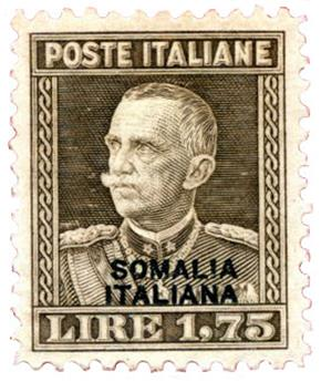 n°111A* - Timbre SOMALIE ITALIENNE Poste