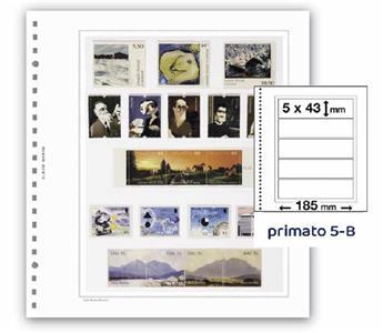 FEUILLES PRIMATO 5 BANDES / 5-B (PAR 6)