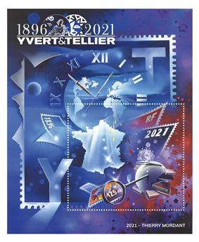 n° 9 -  Selo França Bloco YVERDE et Tellier