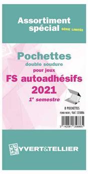 Assortiment de pochettes (double soudure) : 2021 -1e sem. (Jeux Autoadhésifs)