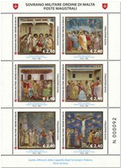 n° 1551/1556 - Timbre ORDRE de MALTE Poste