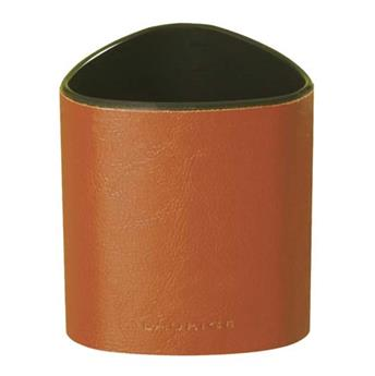 Pot à crayon en cuir (Marron)