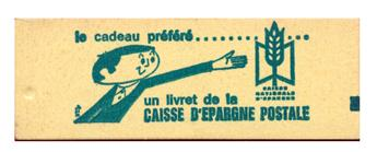 n°1331A-C1** - Timbre FRANCE Carnets