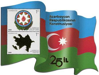 n° 221 - Timbre AZERBAIDJAN Blocs et feuillets