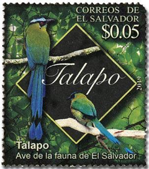 n° 1970 - Timbre SALVADOR Poste