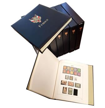 FRANCE: Albums DAVO 1849/2006