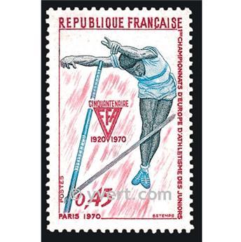 n.o 1650 -  Sello Francia Correos