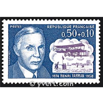 n° 1670 -  Selo França Correios