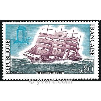 n° 1674 -  Selo França Correios