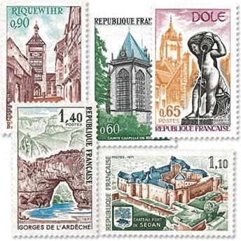 n.o 1683 / 1687 -  Sello Francia Correos