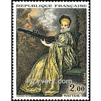 n° 1765 -  Selo França Correios