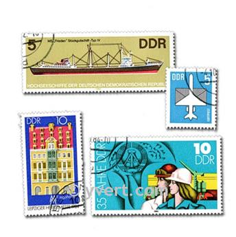 GERMANY: envelope of 500 stamps