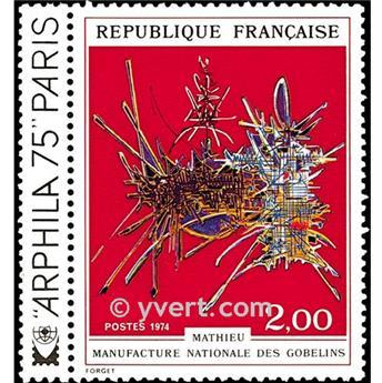 n° 1813 -  Selo França Correios