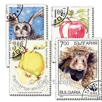 BULGARIA: lote de 100 sellos
