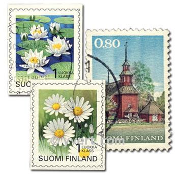 FINLÂNDIA: lote de 300 selos