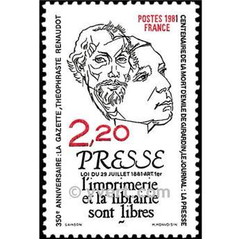 n° 2143 -  Selo França Correios
